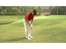 Retief Goosen gives some chipping advice